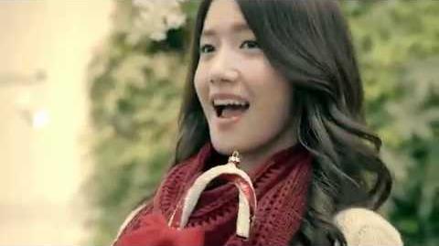 111118 SNSD Yoona Innisfree Merry green christmas CF (Full Ver)