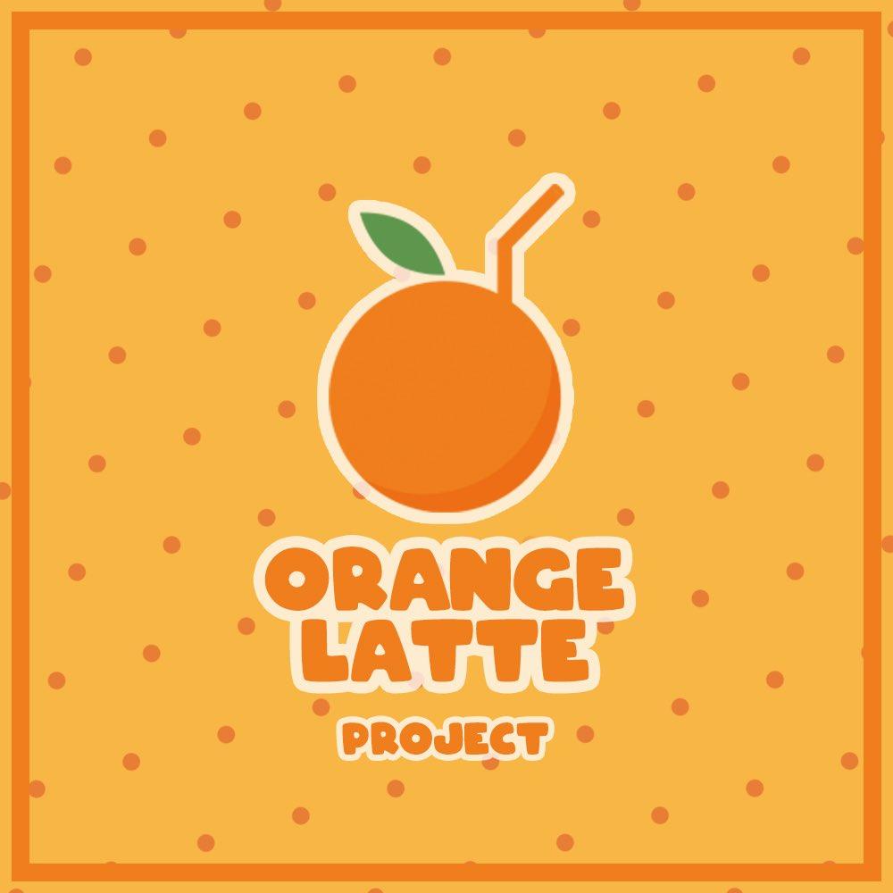 Orange Latte