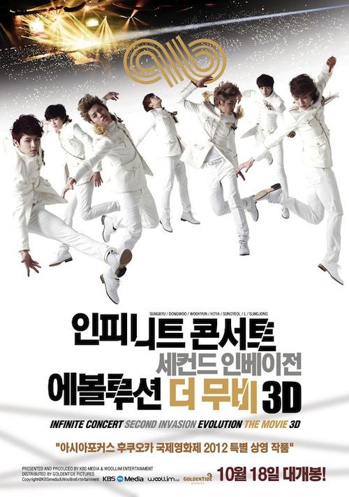 INFINITE Concert Second Invasion Evolution The Movie 3D