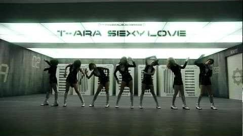 T-ARA 티아라 SEXY LOVE Robot Dance ver