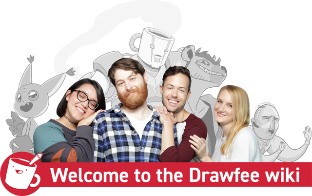 Welcome to the Drawfee wiki banner