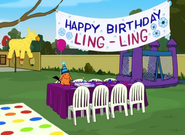 Ling-Ling's Birthday