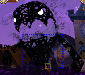 Giant Scribble Monster