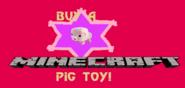 Minecraft Pig toy Eruowood