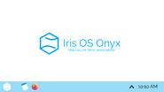 Iris OS Onyx Desktop