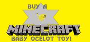 Minecraft Baby Ocelot toy Eruowood