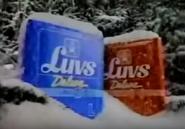 Luvs Deluxe diapers (snowstorm)