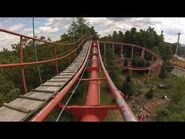Canyon Blaster Great Escape Front-Seat POV relocated Opryland Mine Train