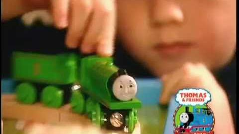 2004 Thomas & Friends Learning Curve Wooden Railway Promo