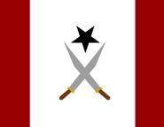 Flag of Kadersaryina (1940-1945)
