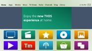 TVOS v7 homescreen
