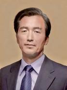 Susumu Mizushima official presidental portrait 1985