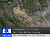 2013 El Kadsre Earthquake