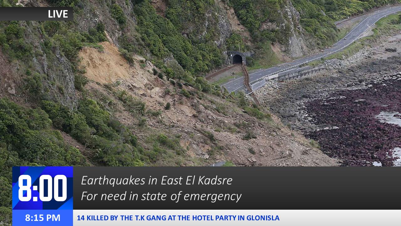 2013 El Kadsre Earthquake