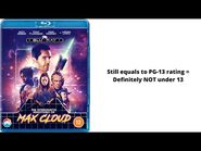 Opening to The Intergalactic Adventures of Max Cloud 2021 Blu-ray (UK Copy)