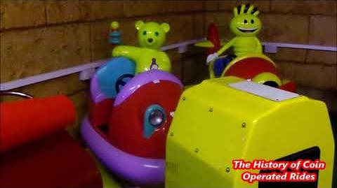 1990s Coin Operated Bumper Car Kiddie Ride - Jellikins