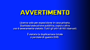 CVN Video warning screen Italy Europe ITALIAN