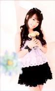 Collage and Portrait of of Nana Mizuki