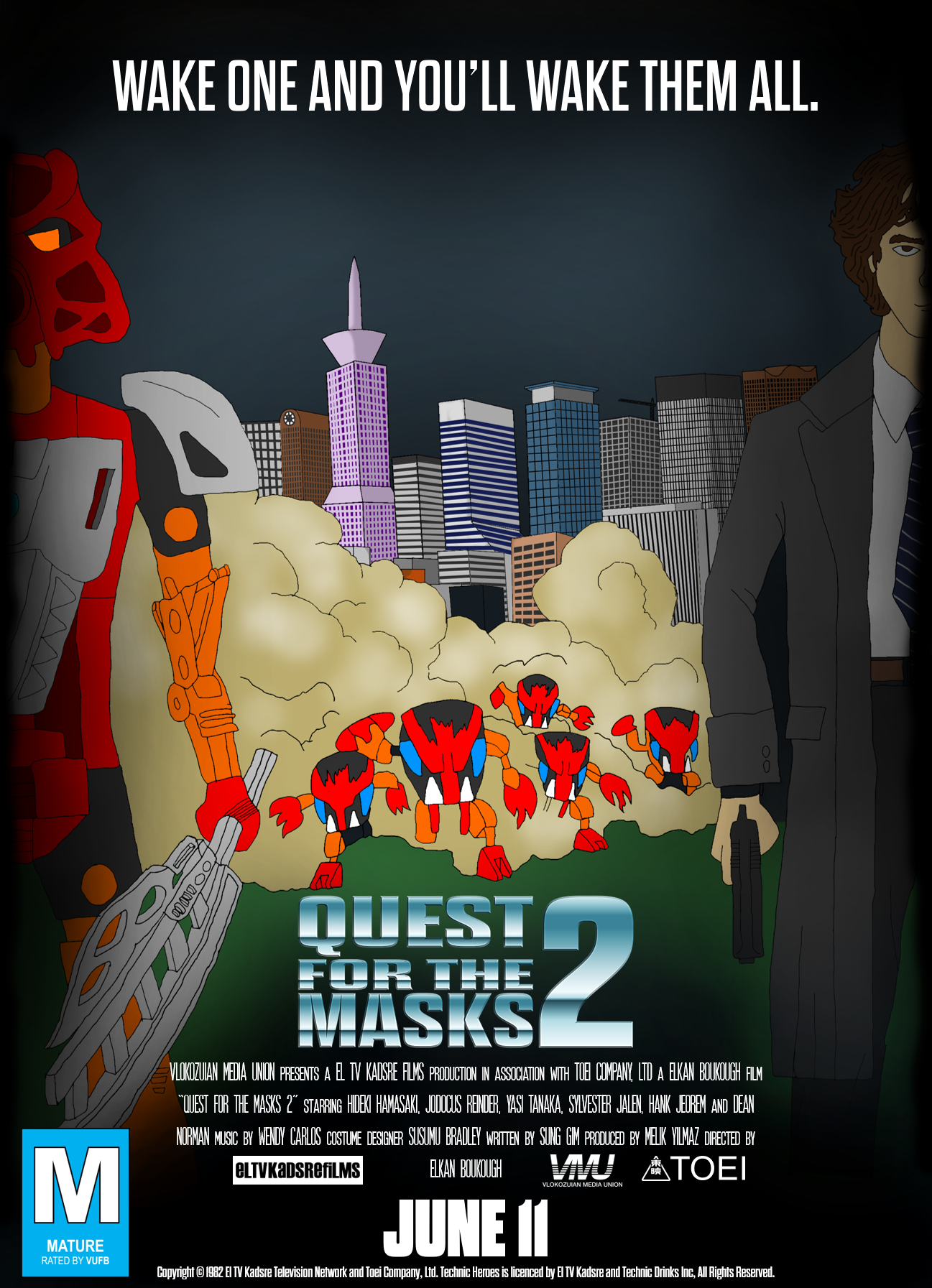 Quest for the Masks 2