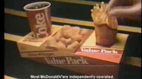 1985 McDonald's Chicken McNuggets Commercial