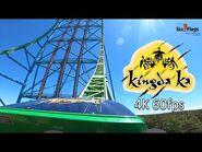 Official Kingda Ka POV 2021 - 4k 60fps - Six Flags Great Adventure