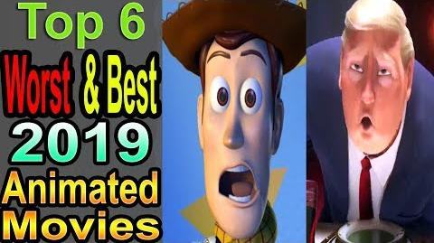 6 Worst Best 2019 Animated Movies