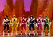 Mighty Morphin Power Rangers Auto Morphin action figures (1994)