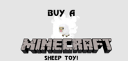 Minecraft Sheep toy Eruowood