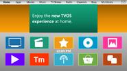 TVOS v5 homescreen