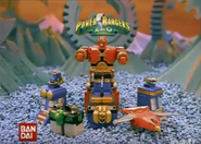 Power Rangers Mini Zeo Zord playsets (1996)