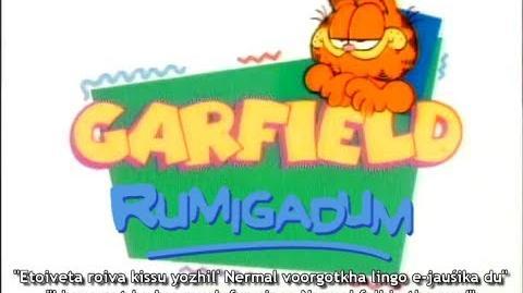 """Garfield and Friends (""Garfield rumigadum"")"" - Crootch opening ( 2, fan-dub cover)"
