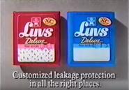 Luvs Deluxe XC diapers