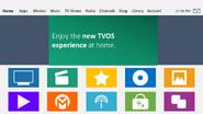 TVOS v8 homescreen