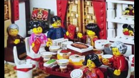 A MAN IS SICK IN LEGO CITY CHINA