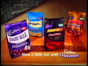 Screenshot from CADBARY CHOCETTES 2003 MINI ME.mp4