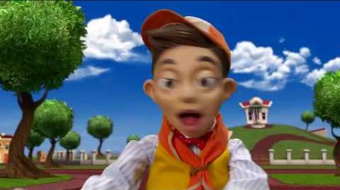 All LazyTown songs but only when they say no