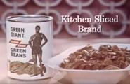 Green Giant Kitchen Sliced green beans (1965)