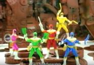 Power Rangers Zeo action figures (1996)