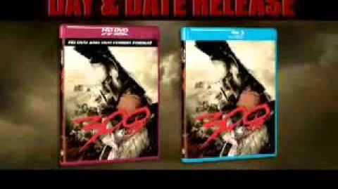 300 (Warner Bros. DVD Blu-ray rare trailer)