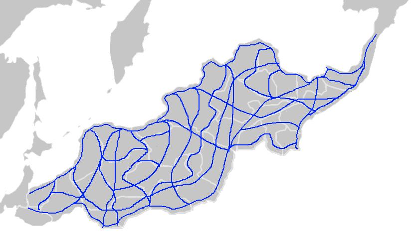 Minecraftia Highway System