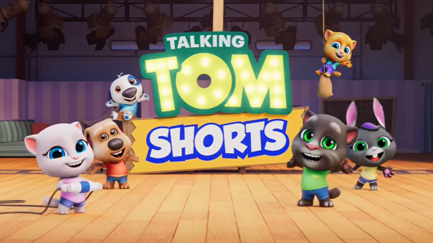 Talking Tom Shorts (French dub)