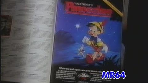 """""""Pinocchio"""" Promotional Preview Sales Tape -1985 (DVD Quality)"""
