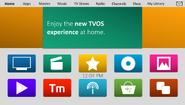 TVOS v6 homescreen