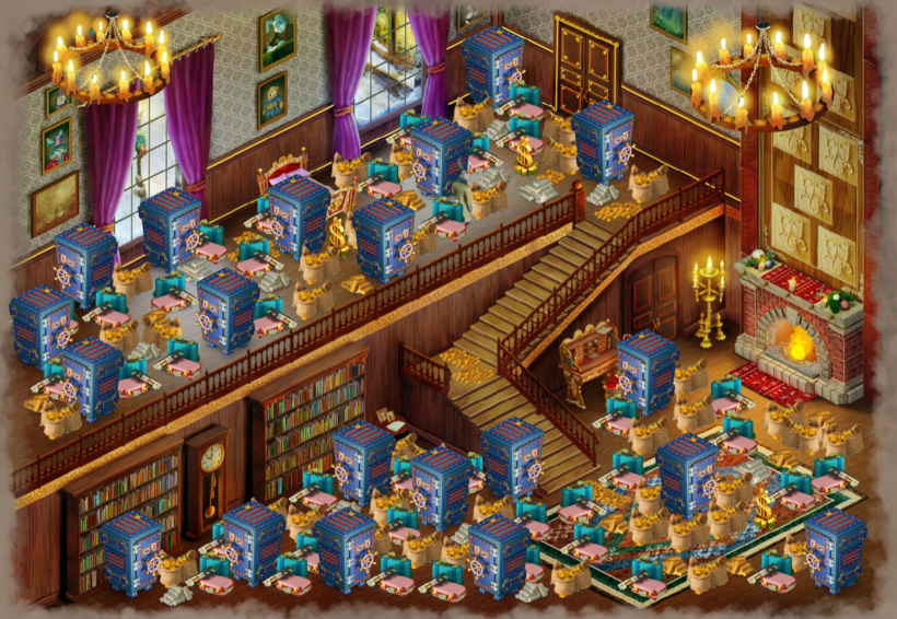 Scrooge's house area