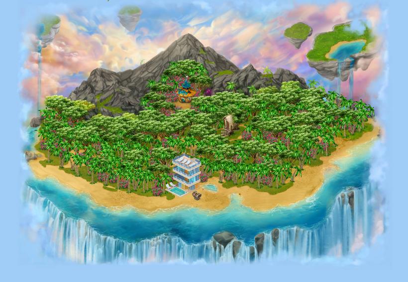 Floating Islands area