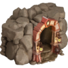 Dungeon caves structure