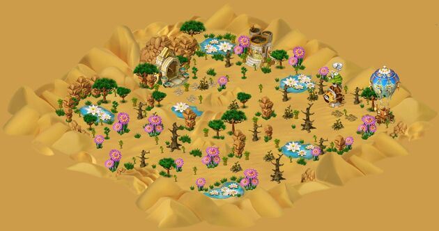 Desert of thousand miracles area