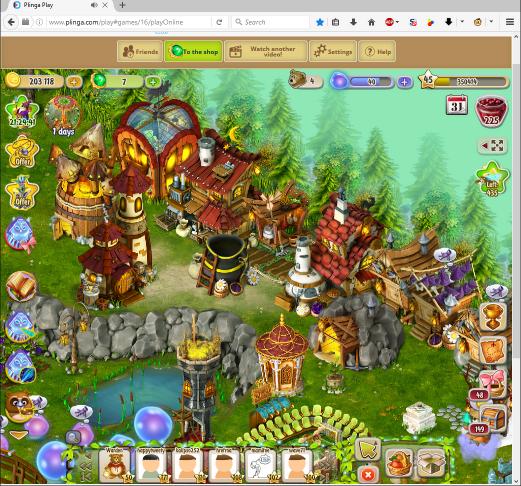 Dreamfields main interface.png