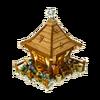 Garden keepers hut
