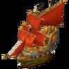 Scarlet ship